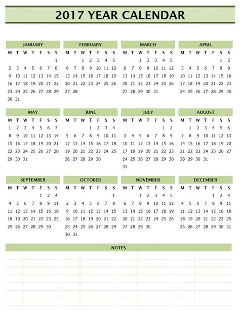 yearly calendar template word 2017 year calendar template free microsoft word templates