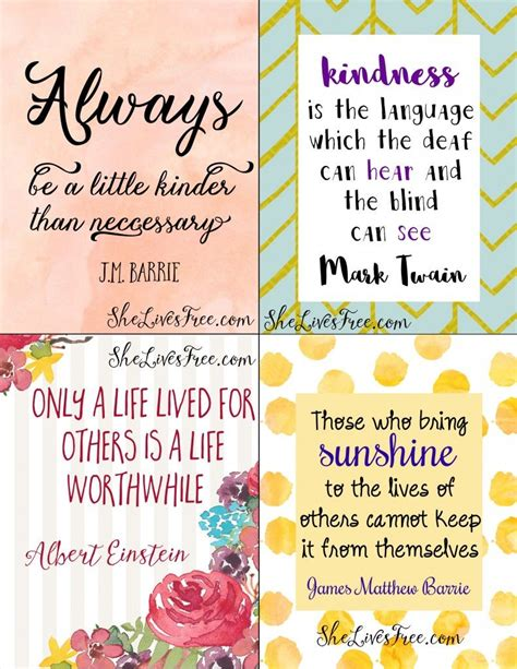 Quote Note Cards