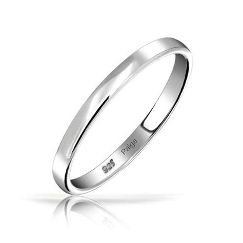 925 sterling silver wedding band thumb toe ring 3mm