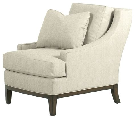 Contemporary Armchairs Elizabeth Chair Ivory Contemporary Armchairs And