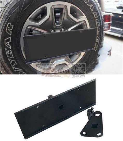 oem spare tire rear licence plate for jeep wrangler jk