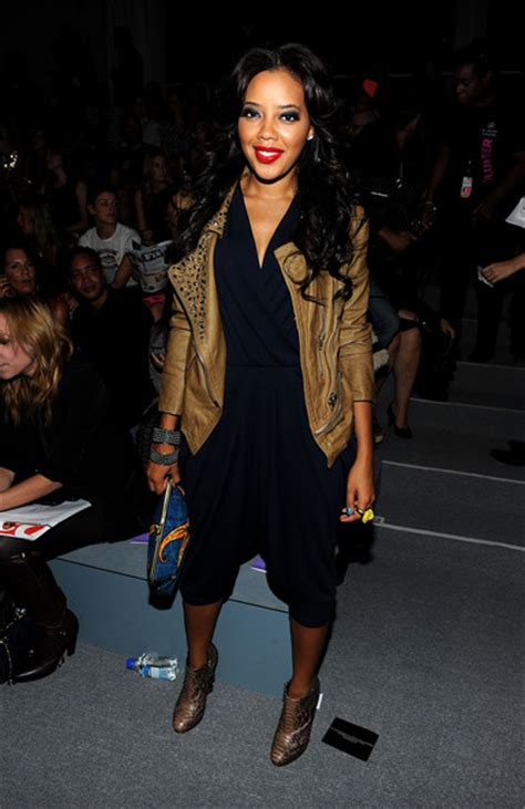 Angela Simmons Wardrobe by Angela Simmons Pictures Nanette Lepore Front Row