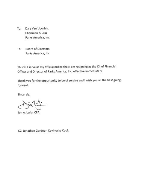 Letter For Resign by View Resignation Letter