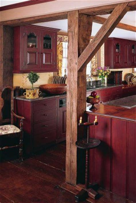 rustic red kitchen cabinets 25 best ideas about red kitchen walls on pinterest red