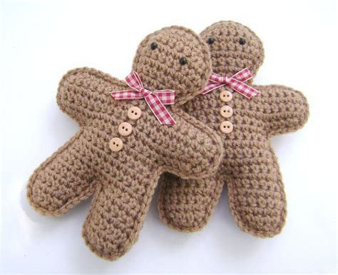 crochet pattern gingerbread man crochet gingerbread man christmas decoration holiday bowl