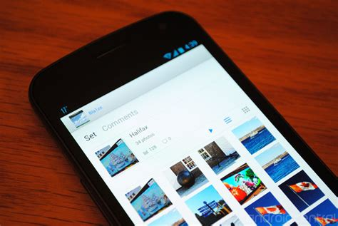 flickr for android flickr for android overhauled with new ui and new features android central