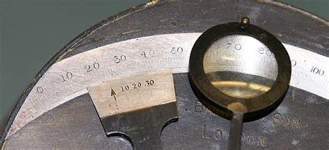 sextant vernier scale box sextant