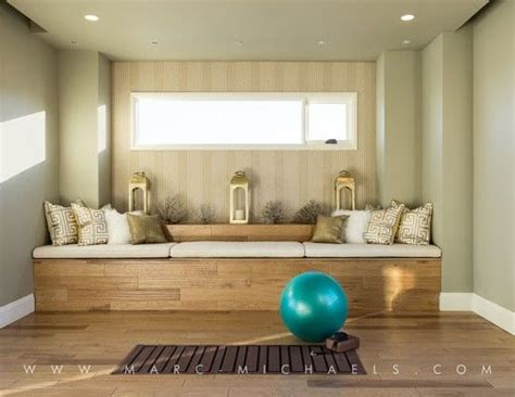 home yoga room design ideas yoga room exercise room 2014 new american home at the
