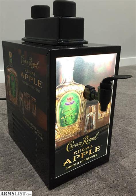 Dispenser Royal armslist for sale trade new crown royal cooler