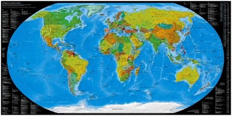 The 25 Best World Maps - the best world map cyrus farivar