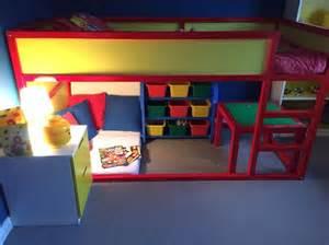 hacking ideas lego bedroom completed ikea kura bed hack milo s room pinterest circles ikea kura and beds