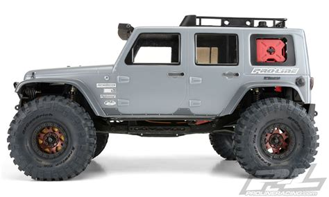 jeep rock crawler rc pro line jeep wrangler body 3336 for rock crawler