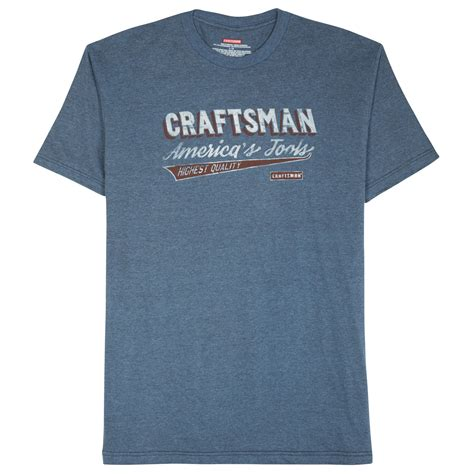 Sears Gift Card Return Policy - craftsman america s tools t shirt color blue clothing men s clothing men s