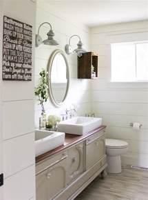 shiplap bathroom beautiful bathrooms with shiplap walls the inspired hive