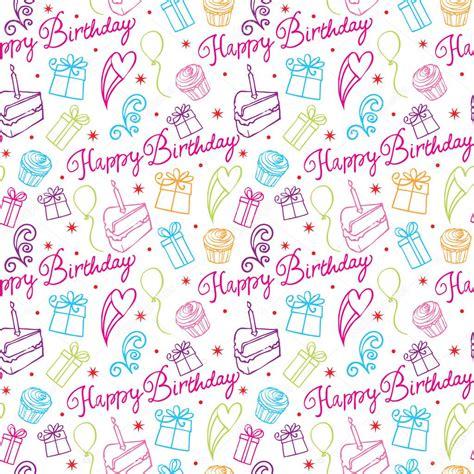 design patterns happy birthday happy birthday pattern stock vector 169 omw 48660793