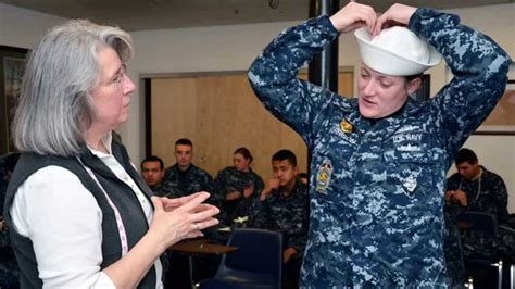 navyuniformmatters the navy uniform matters office is to maintain uniform matters office tests new uniforms youtube
