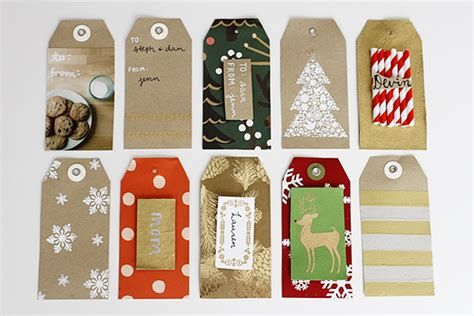 crafty christmas 10 diy holiday gift tag ideas earl