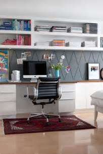 home office wall remodelaholic get this look easy home office with wall