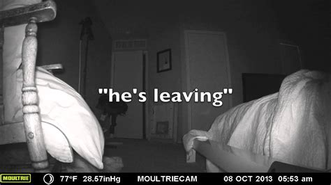 bed shaking night shakes game camera while i sleep catches bed shake