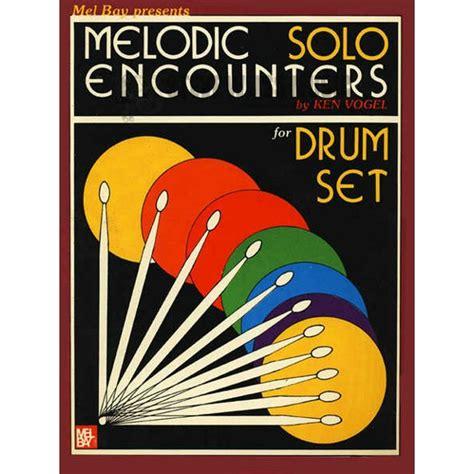 melodic stick books vogel melodic encounters drum set drum set method