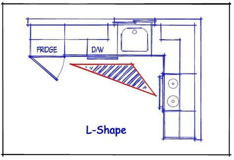 kitchen shapes 1000 ideas about l shape kitchen on pinterest