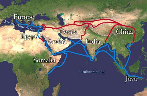 ottoman empire trade goods file silk route copy jpg wikipedia
