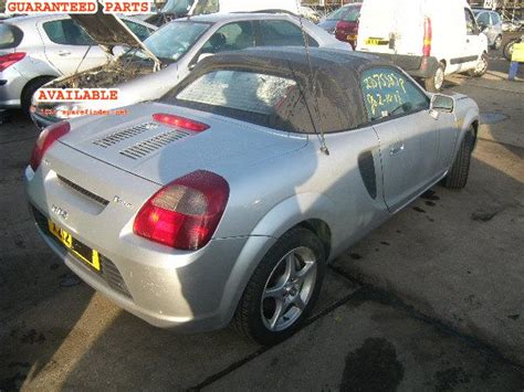 automotive service manuals 2001 toyota mr2 spare parts catalogs toyota mr2 breakers mr2 roadster dismantlers