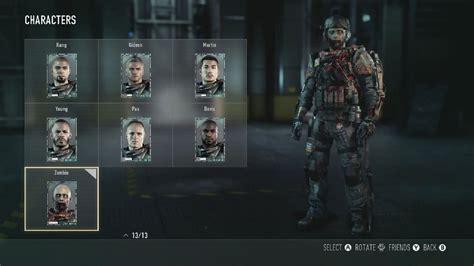 call  duty advanced warfare zombie character