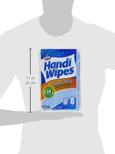 clorox handi wipes heavy duty reusable cloths  count buy   uae health  beauty