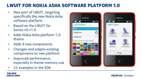 windows 10 themes for nokia asha 210 build great uis with lwuit for nokia asha software