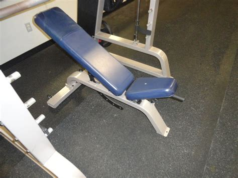 precor bench midwest used fitness equipment precor icarian super bench 119 adjustable bench