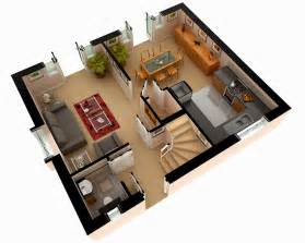 home design plans ground floor 3d multi story house plans 3d 3d floor plan design modern