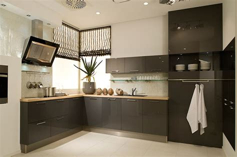 Kitchen Cabinet Designer Online high gloss anthracite acrylic kitchens
