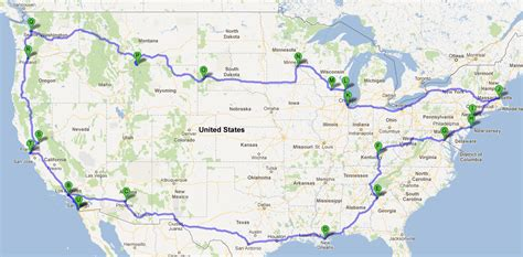 map your us trip the best part of a 10 week roadtrip across the usa the