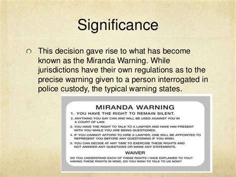 Miranda V Arizona Essay by Miranda V Arizona Essays Articlessearchqu X Fc2