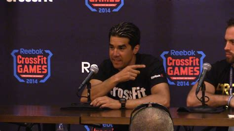 dave castro on the rookies at the 2014 crossfit