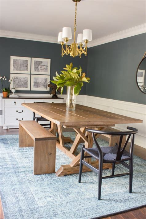 Diy Dining Room by Modern Farmhouse Dining Table Amp Benches Erin Spain