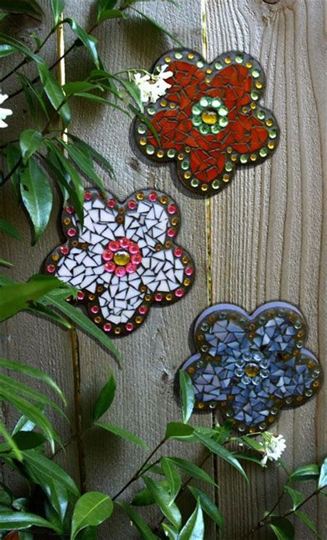 Mosaic Ideas For The Garden 251 Best Images About Fence Decor On Pinterest