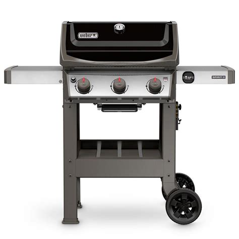 Weber Spirit 310 by Weber Spirit Ii E 310 3 Burner Propane Gas Grill In Black