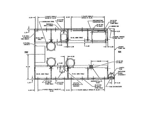 shop blueprints repair shop floor plans 171 unique house plans