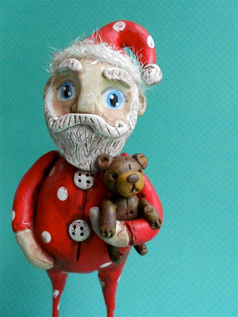 Paper Clay Crafts - 302 best i believe in santa claus images on