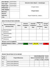project update template word status report templates 12 free word documents