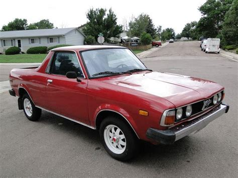 1993 subaru brat for sale this 1981 subaru brat is cheap and oh so carbuzz
