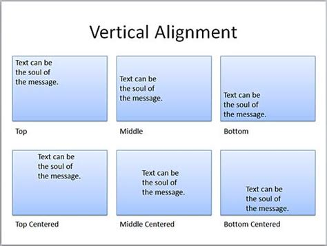 layout manager vertical alignment text layout options in powerpoint 2010 powerpoint tutorials