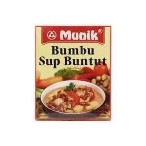 Munik Bumbu Sop Buntut bumbu sop buntut oxtail beef soup 180 gr by munik