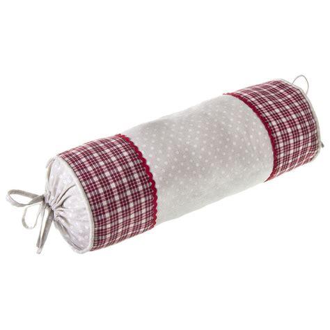 cuscini francesi cuscino provenzale cilindrico con fiocchi cuscini francesi