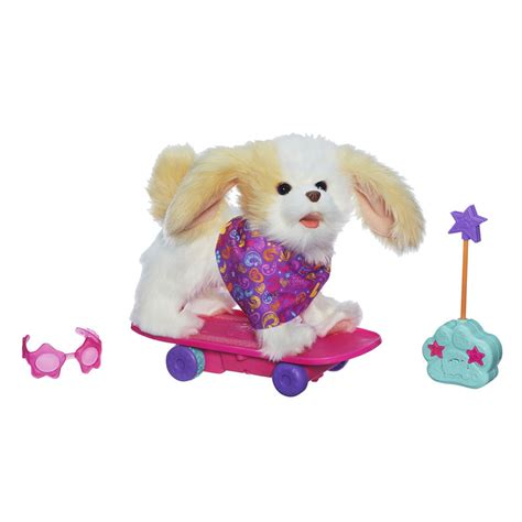 furreal friends furreal friends trixie the skateboarding pup pet toys