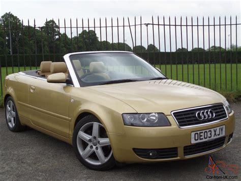 audi a4 convertible roof audi a4 cabriolet sport 2 4 2003 03 2door convertible