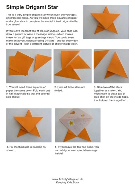 Easy Origami To Make - easy how to make an origami 2016