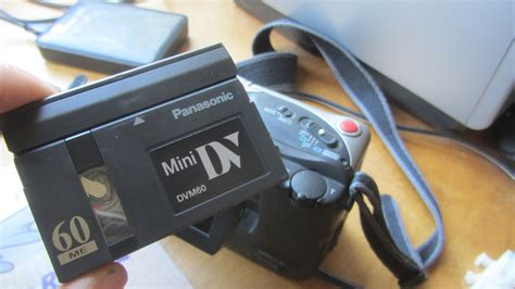 cassette minidv how to import mini dv on a mac